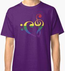 We Heart Music - Rainbow Classic T-Shirt