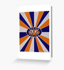 Auburn Tigers College Football Greeting Card