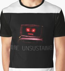 Unsustainable Graphic T-Shirt