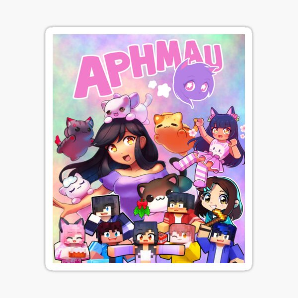 Aphmau Art Sticker