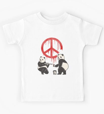 Pandalism 2 Peace Sign Kids Clothes
