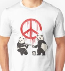 Pandalism 2 Peace Sign Unisex T-Shirt