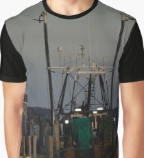 Fishing Vessel | Montauk, New York Graphic T-Shirt
