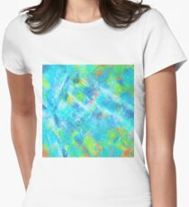 Water Splash Women's Fitted T-Shirt
