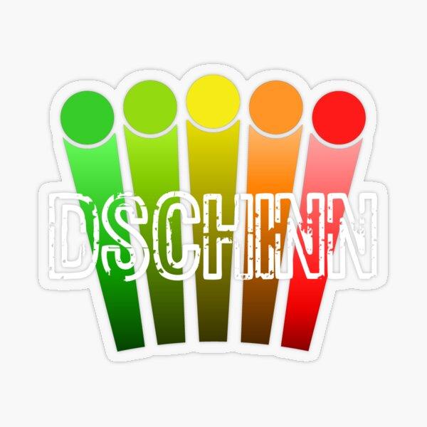 Der Dschinn Transparenter Sticker