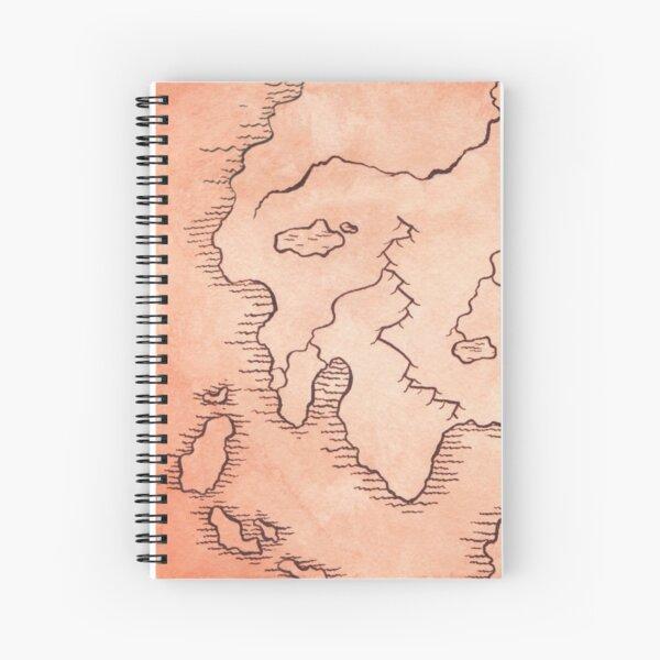 Dwarven Map Spiral Notebook