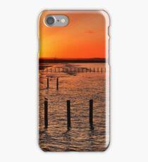 Sunrise on the coast iPhone Case/Skin