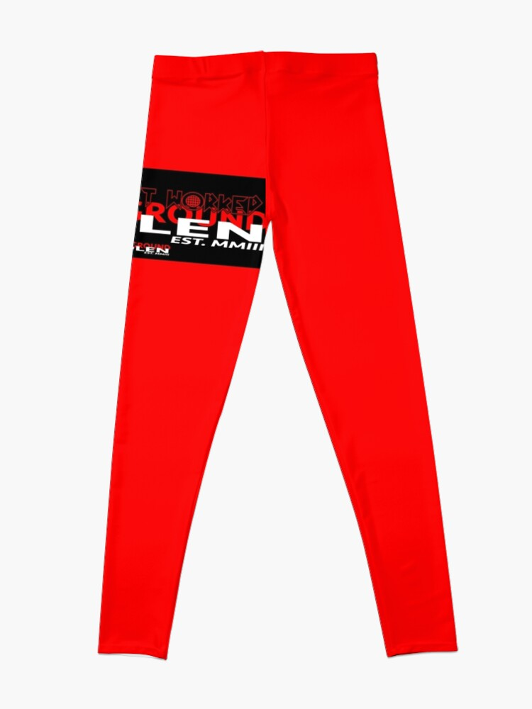 Alternate view of RED COLLECTION NONE OF IT WORKED! Leggings