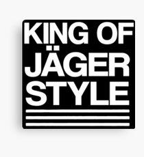 King of Jäger Style Canvas Print