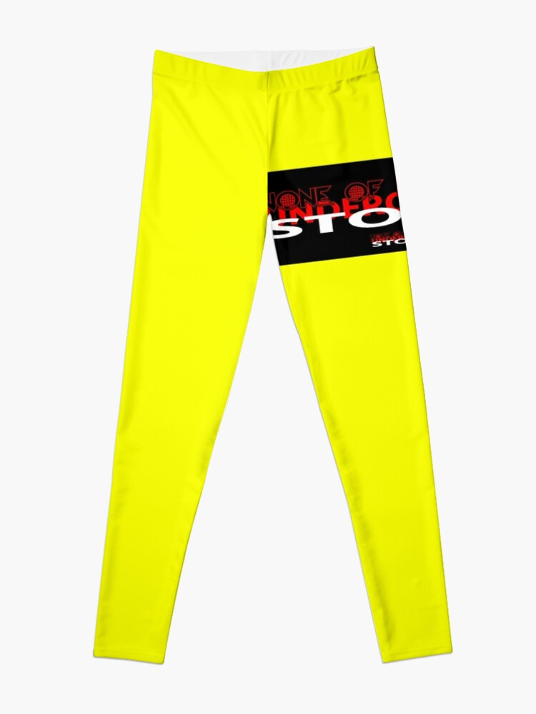 Alternate view of YELLOW COLLECTION NONE OF IT WORKED! Leggings