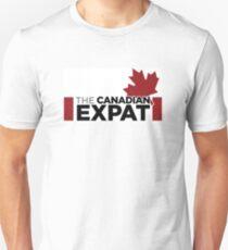Canadian Expat Slim Fit T-Shirt