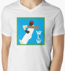 WLW logo big V-Neck T-Shirt