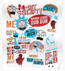 Morty & Rick  Poster