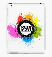 RAW To The Core! iPad Case/Skin