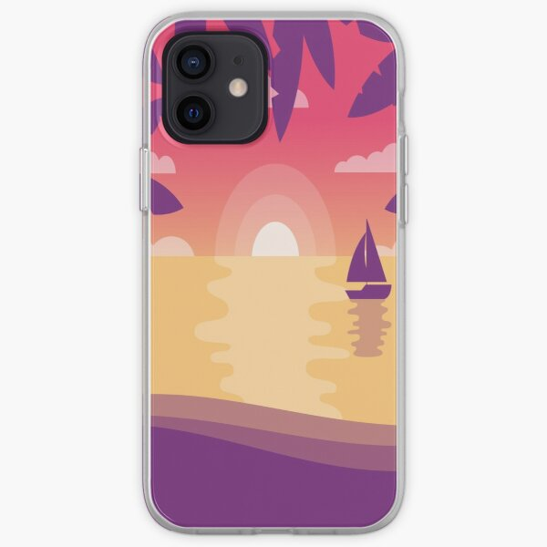 Sunny Summer Masks, Summer , Gift For Boys and Girls iPhone Soft Case