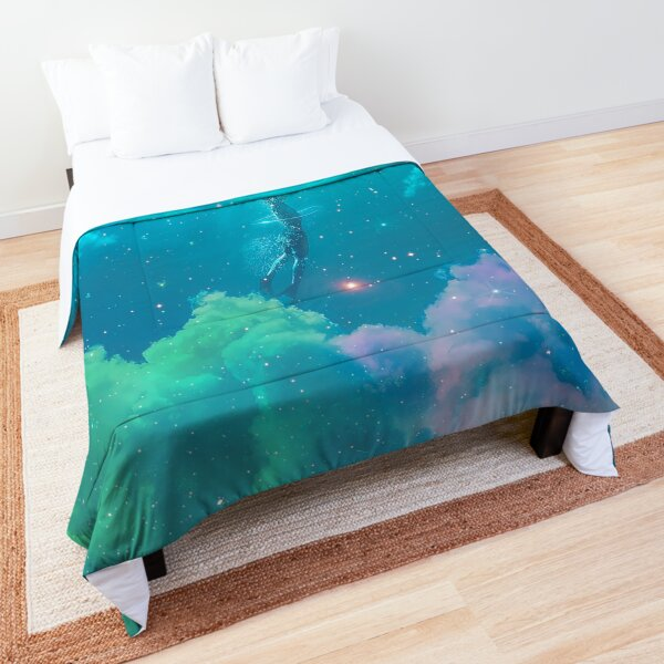 Over the clouds Under The sea  Comforter