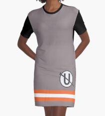 Holtzmann Screw U Necklace Ghostbusters Graphic T-Shirt Dress