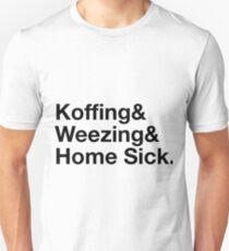 Stylish Pokemon T's | Koffing & Weezing & Home Sick | Black on light Unisex T-Shirt