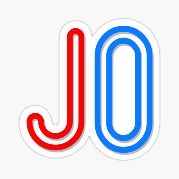 Jo - Your Personalised Products Sticker