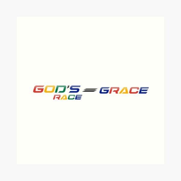 The Wenda Nel Collection: God's Race = GRACE  Art Print
