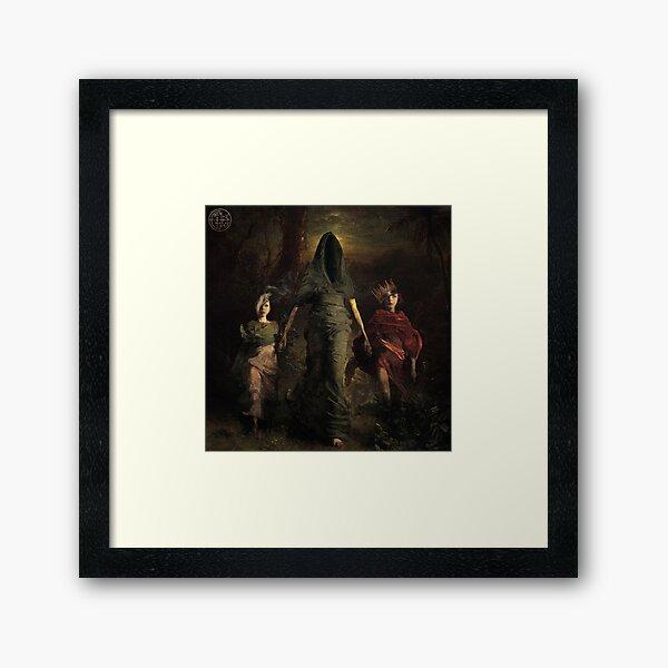 """Other Worlds"" Framed Art Print"