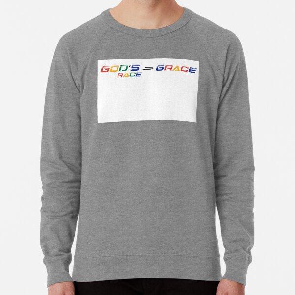 The Wenda Nel Collection: God's Race = GRACE  Lightweight Sweatshirt