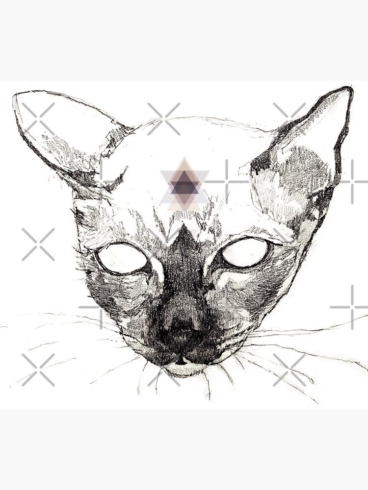 Katze Geometrisch von ghostwillow