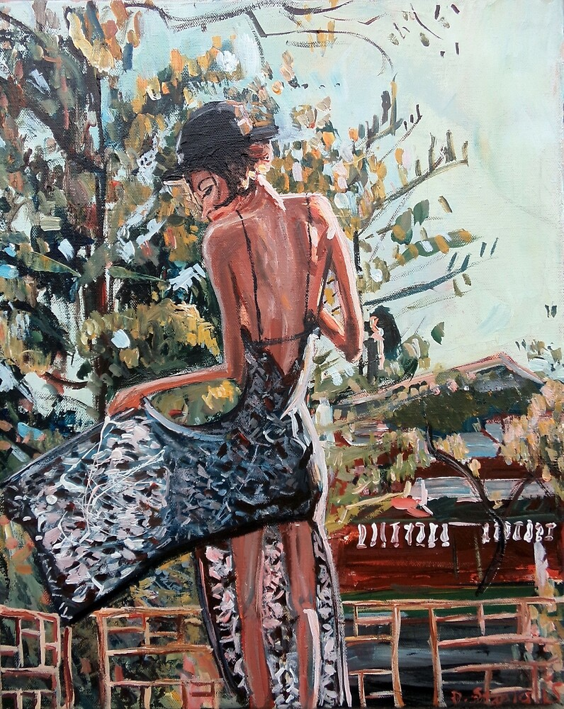 Woman in Summer Dress by Duncan Staples