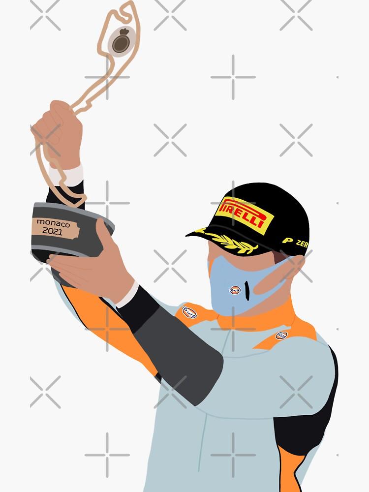 «Podium Lando Norris Monaco 2021» par emstanden25