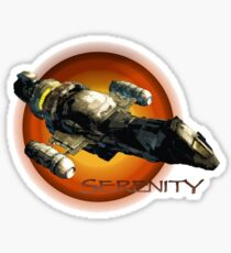 Firefly - Serenity Spaceship Sticker
