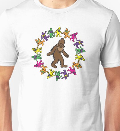 Gratefoot Circle Design Unisex T-Shirt