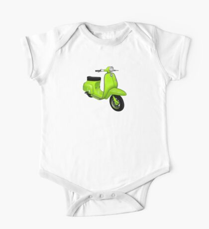 Scooter T-shirts Art: J50 Deluxe Scooter Design Kids Clothes