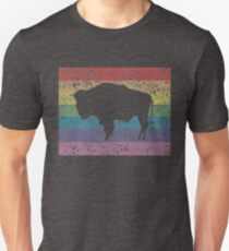 wyoming rainbow Unisex T-Shirt