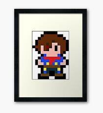 Pixel Vyse Framed Print