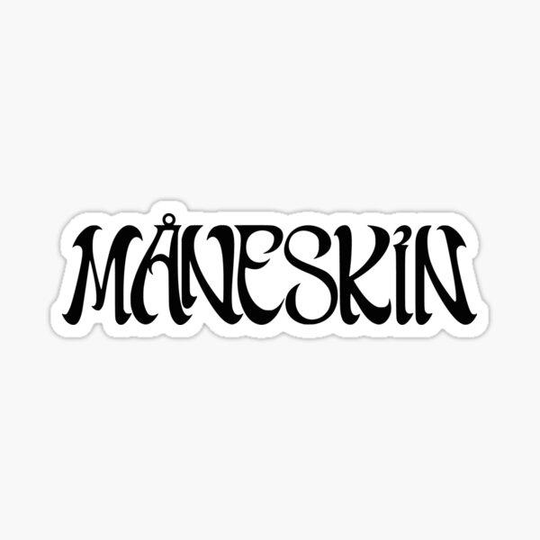 Måneskin Logo (sticker and more) Sticker