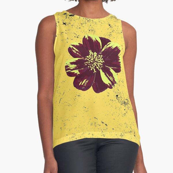 Spoiled Flower Sleeveless Top