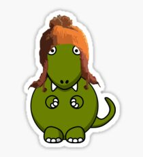 A Dinosaur in Jayne's Hat - Firefly Sticker