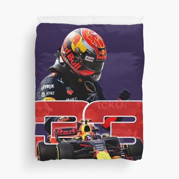 #33 Max Verstappen - Future Champion Duvet Cover