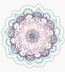 Meerjungfrau Medaillon Sticker