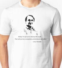 Linux - Linus Torvalds Unisex T-Shirt
