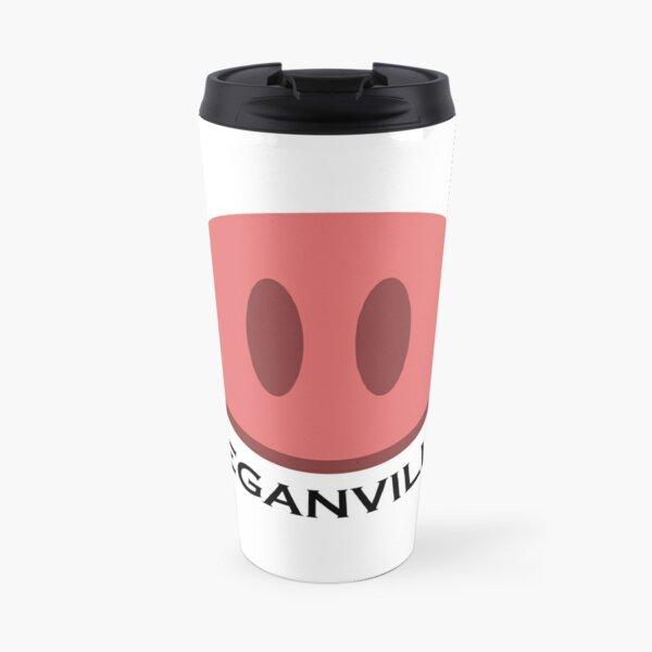 Veganville Pig Snount Travel Mug
