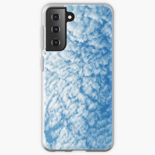 Weather Gift - Cirrocumulus Clouds - Meteorology - Meteorologist Samsung Galaxy Soft Case