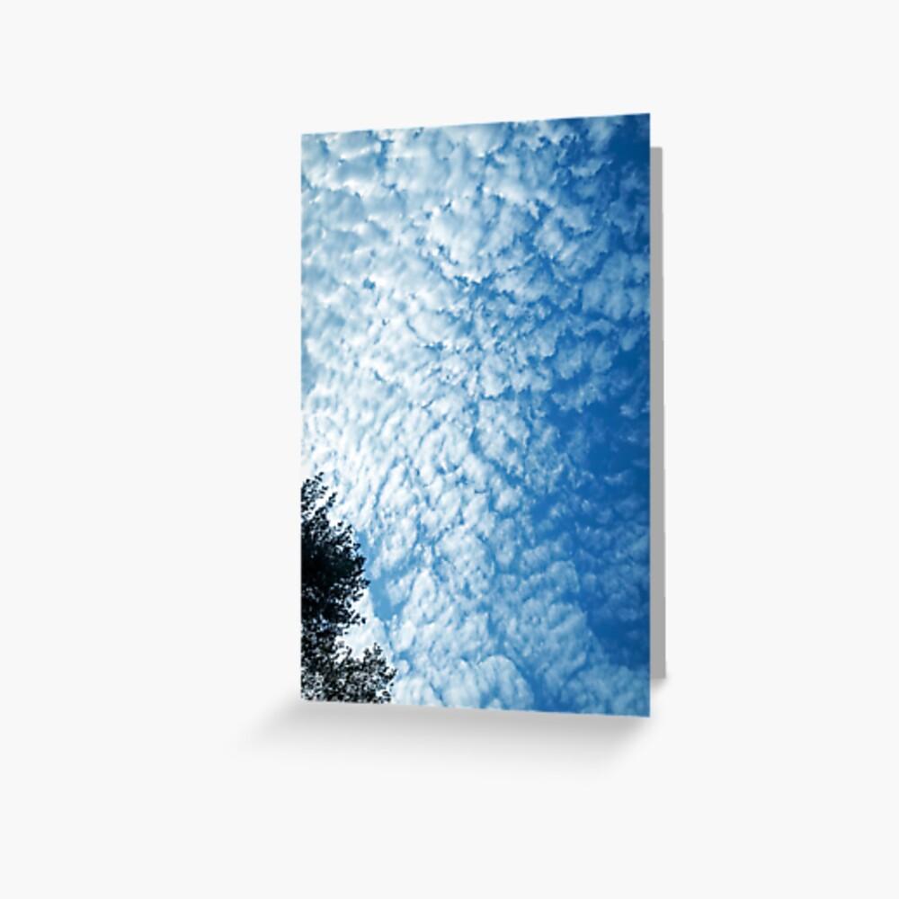 Weather Gift - Cirrocumulus Clouds - Meteorology - Meteorologist Greeting Card