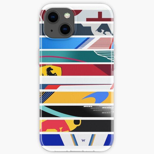 Livrées de grille F1 2021 Coque souple iPhone