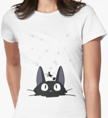Kiki's Carrier Service Women's Fitted T-Shirt