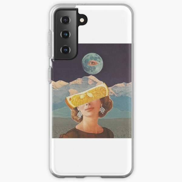 If the Sky was Made of Oranges Samsung Galaxy Soft Case