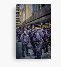 New York's Finest Canvas Print