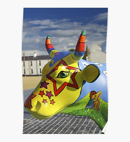 Play Trail - Asperations Cow, Ebrington Poster