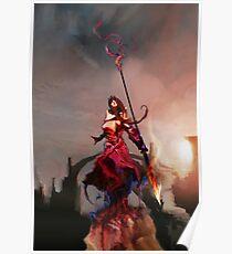 Athena, Born of Zeus Poster