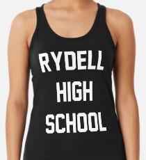 Grease Rydell High School Racerback Tank Top